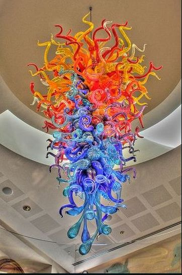 dale chihuly shrinky dink chandelier